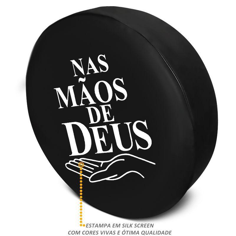 Capa Estepe Crossfox 2005 a 2017  Mãos de Deus com Cadeado