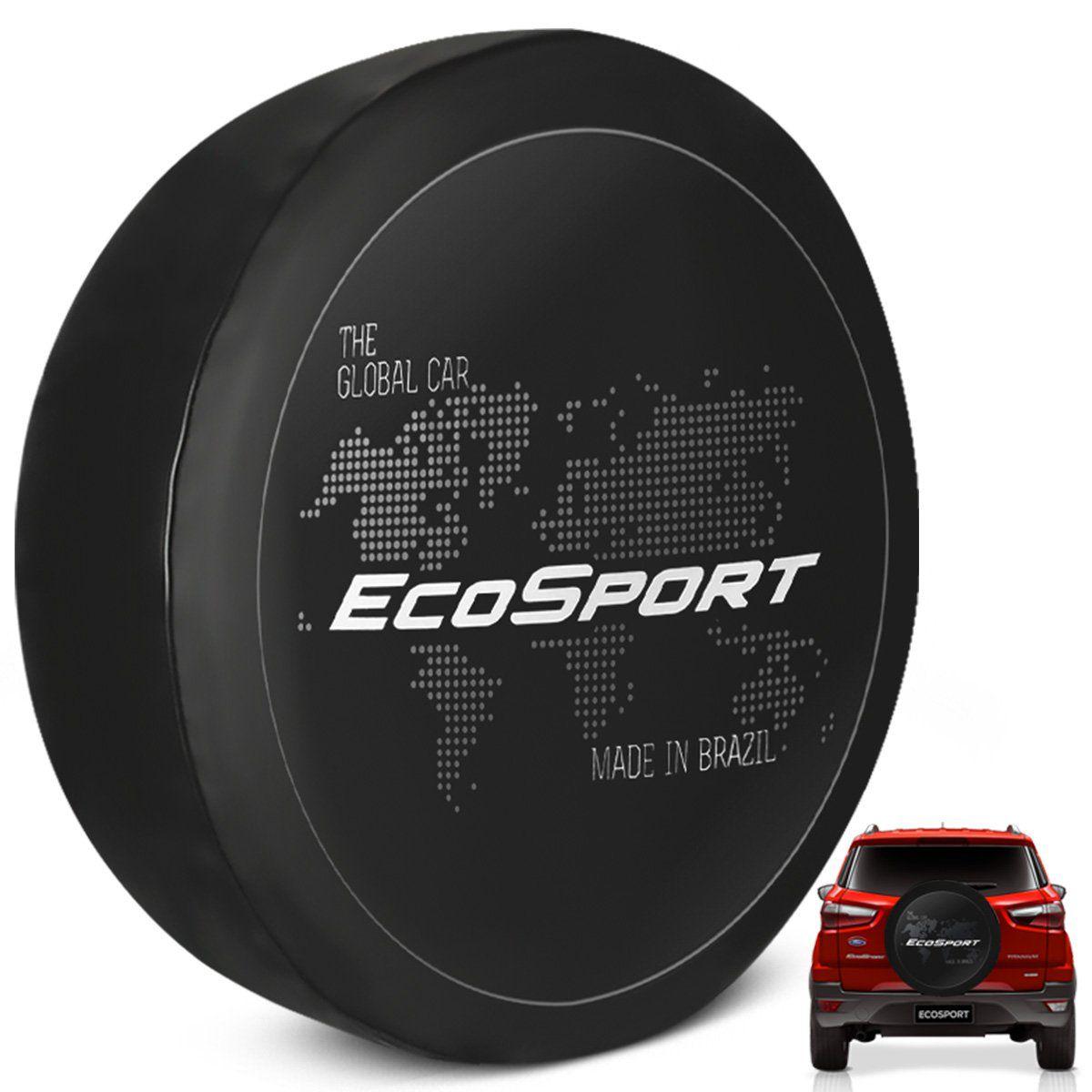 Capa De Estepe Ecosport 2003 a 2019 Estampa Global Car PVC