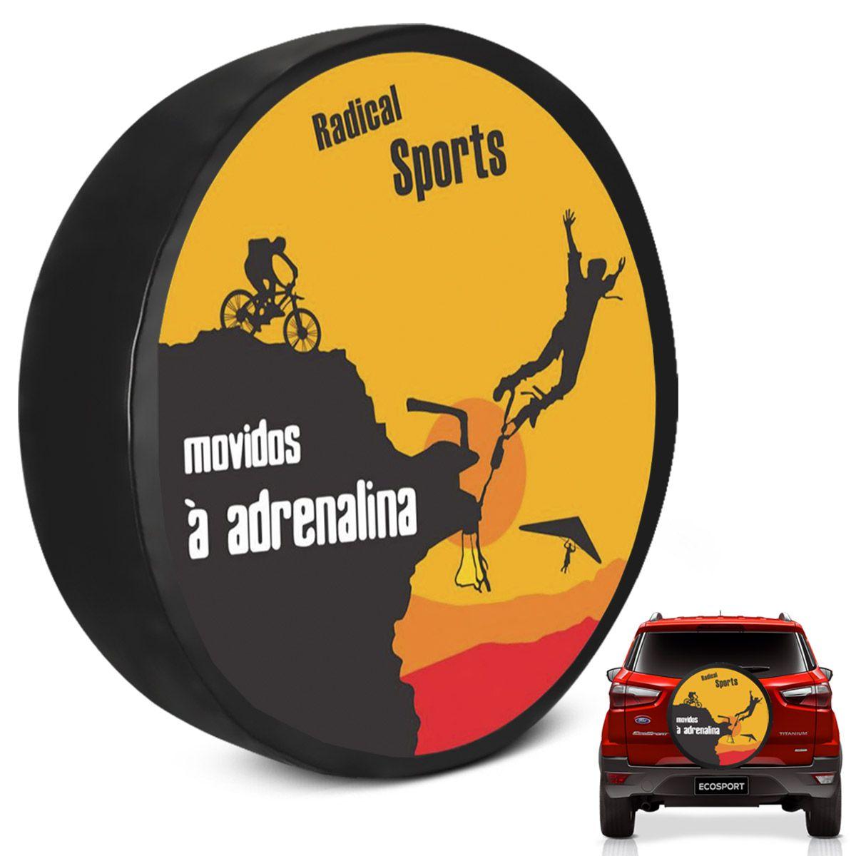 Capa de Estepe Ecosport 2003 a 2019 Movidos a Adrenalina Cadeado