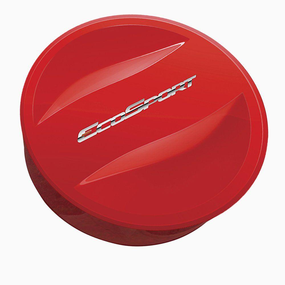 Capa De Estepe Ecosport Titanium 2018 2019 Vermelho Arpoador