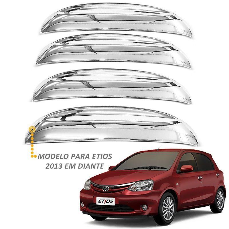 Capa de Maçaneta Etios 2013 a 2019 Cromado