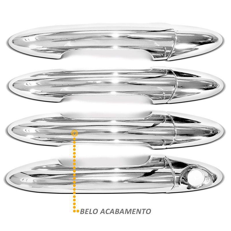 Capa de Maçaneta HB20 e HB20s 2012 a 2019 Cromado