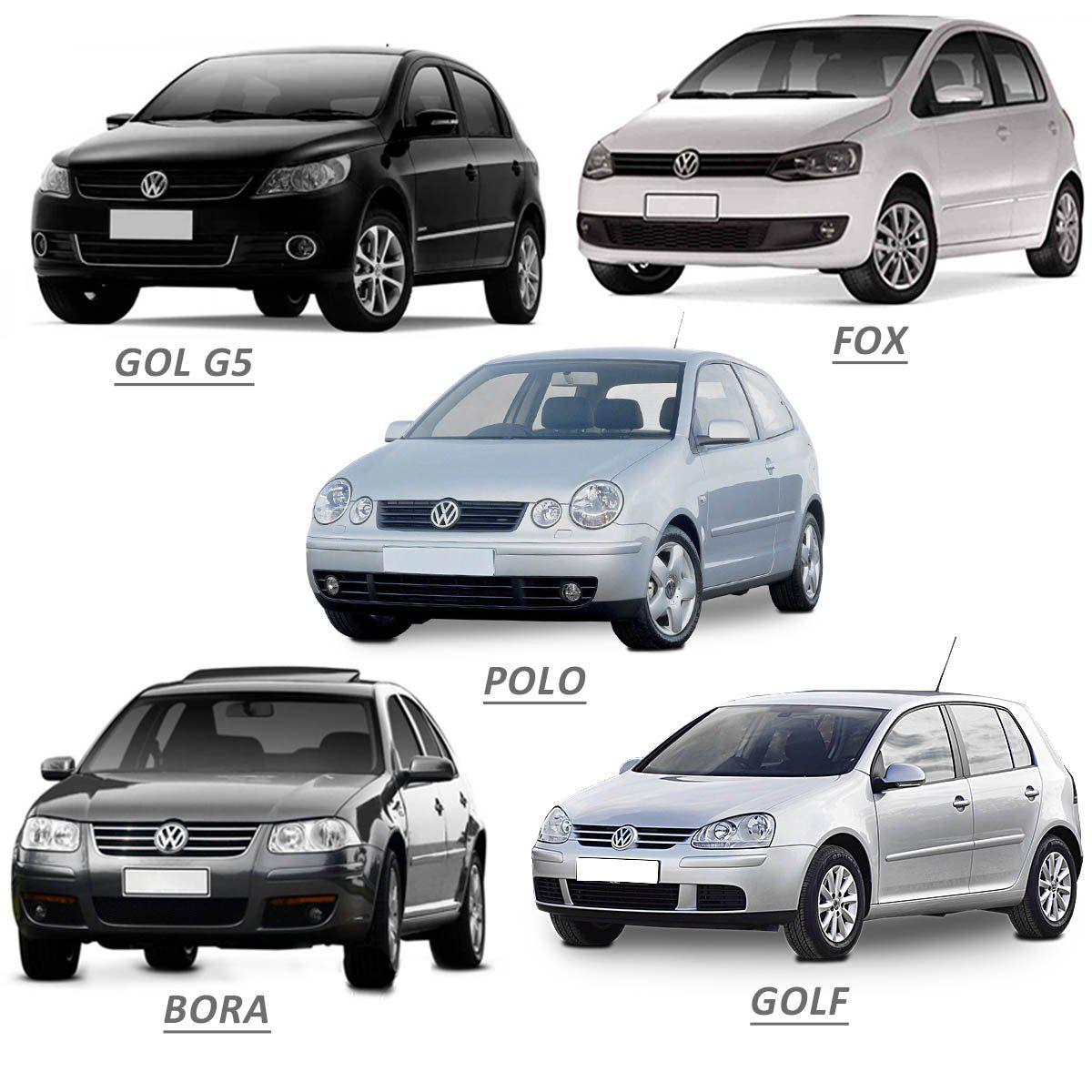 Capa de Maçaneta Gol G5 Fox Polo Golf Bora 1999 a 2019 Cromada