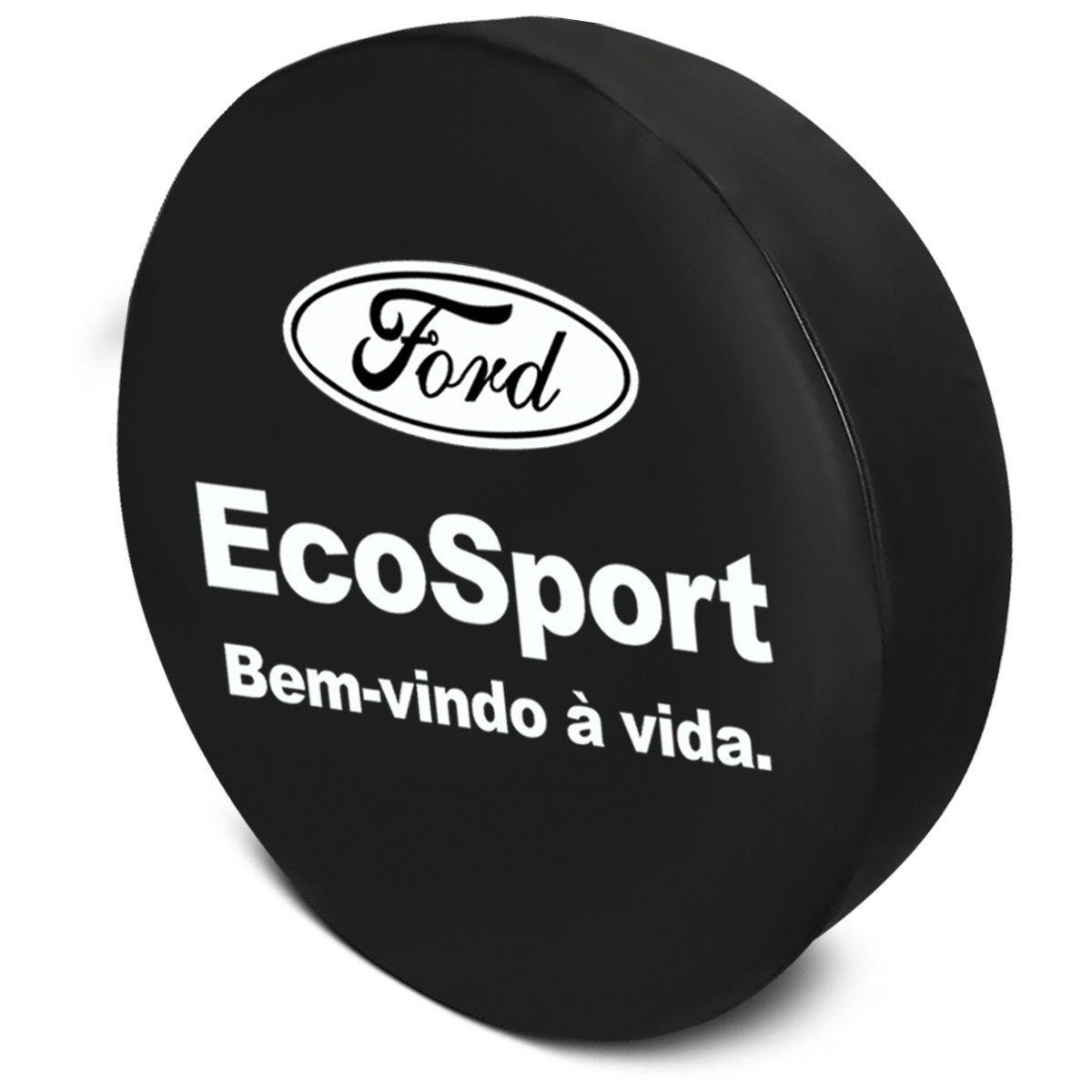 Capa Estepe Ecosport 2003 a 2019 Bem-Vindo à Vida com Cadeado