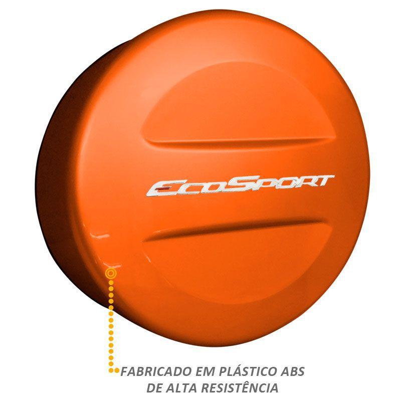 Capa Estepe Ecosport 2013/2016 Abs Rígida Laranja Savana