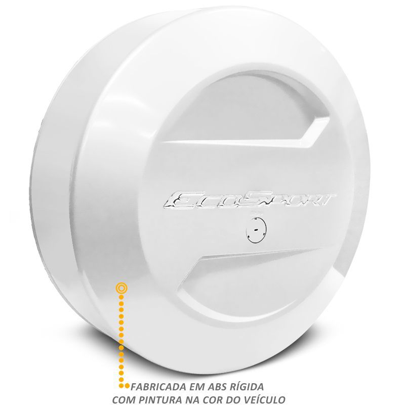 Capa Estepe Ford Ecosport 2003 a 2017 Branco Artico Bepo