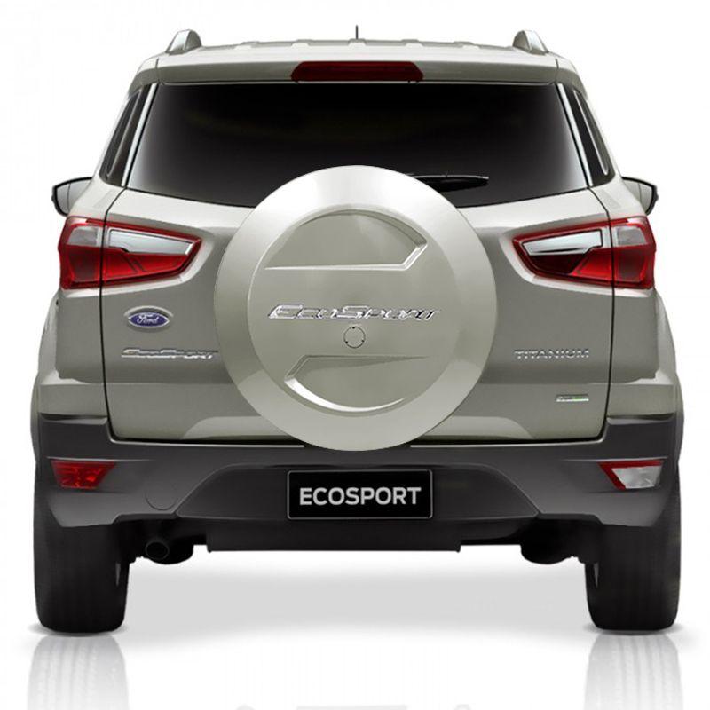 Capa De Estepe Ford Ecosport 2003 a 2017 Prata Riviera Bepo