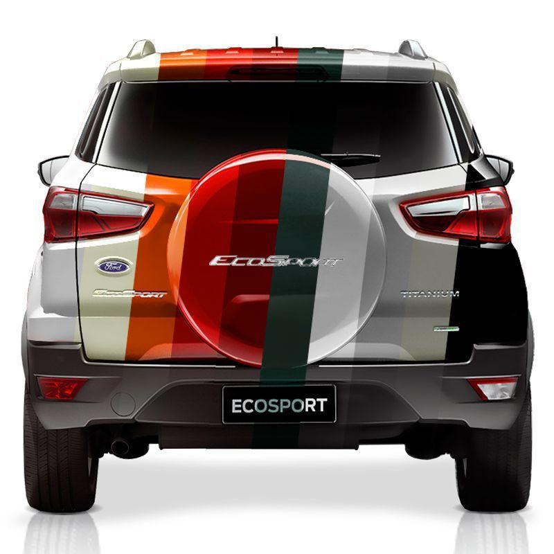 Capa Estepe Ford Ecosport 2003/2017 Bepo Sem Pintura