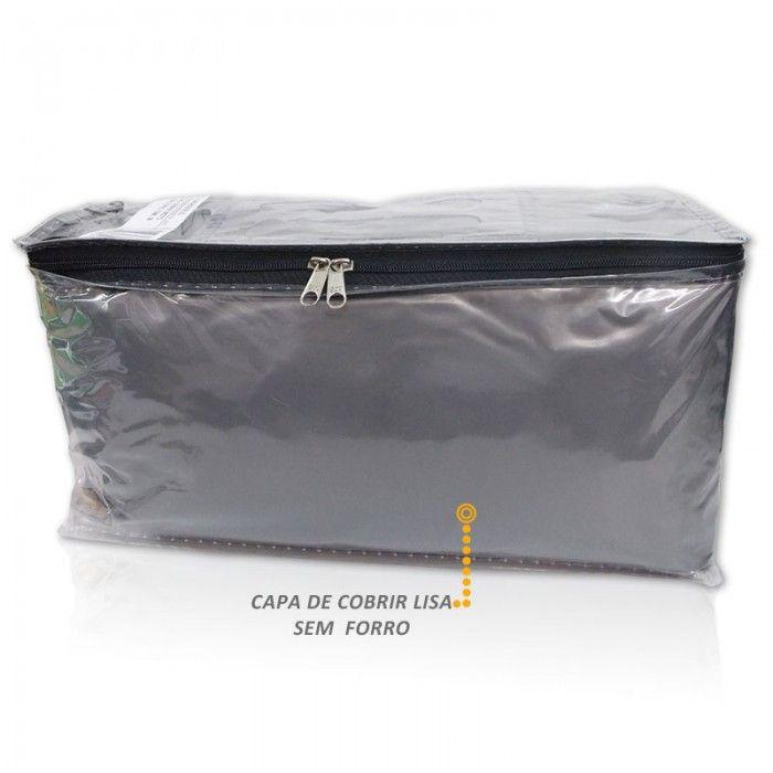 Capa Cobrir Moto Impermeavel Lisa Sem Forro Tamanho Medio