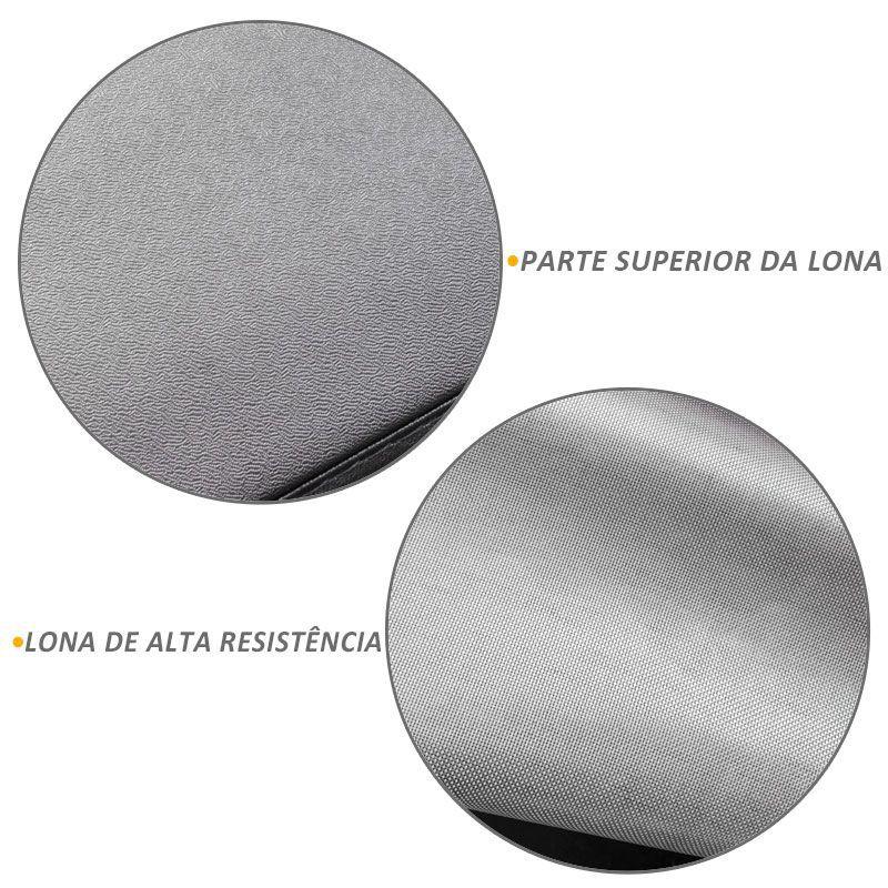 Capota Maritima S10 1996 a 2011 CD Trek Aluminio Top One