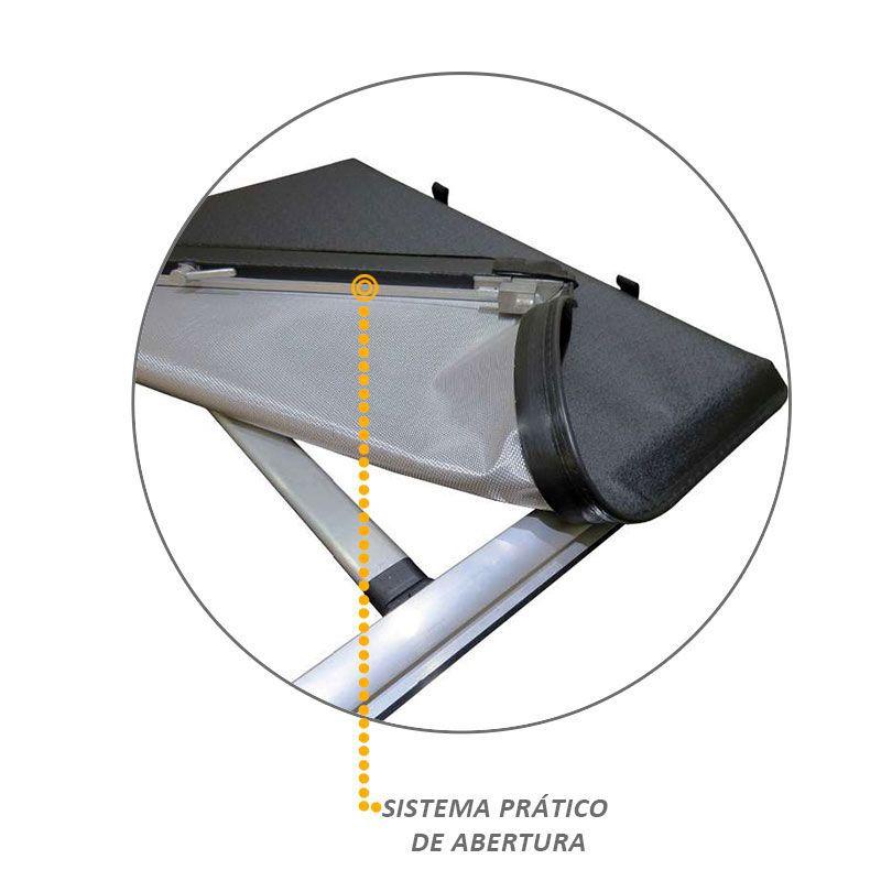 Capota Maritima Hilux 2016 a 2020 Roller Trek Aluminio