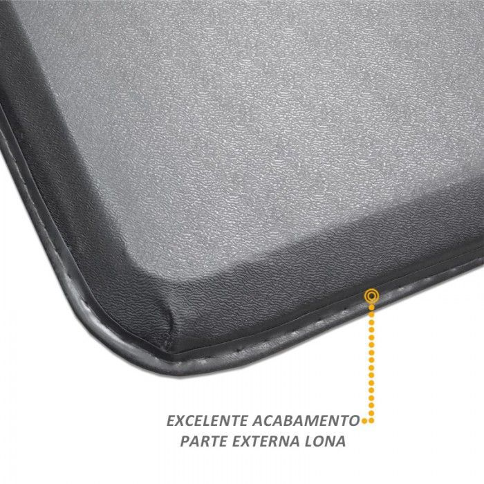 Capota Maritima Fiat Fiorino Longa - Modelo Trek Aluminio