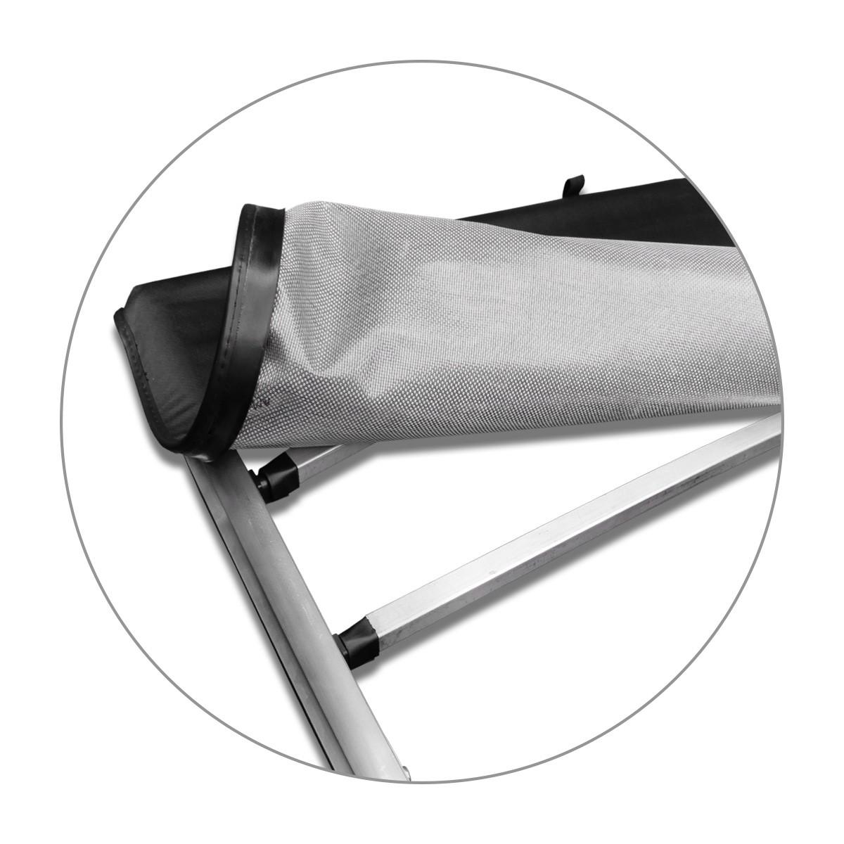 Capota Maritima Ranger CS 2013 a 2020 XLS Aluminio S/ Santo