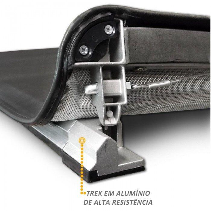 Capota Maritima Strada Cabine Simples - Modelo Trek Aluminio