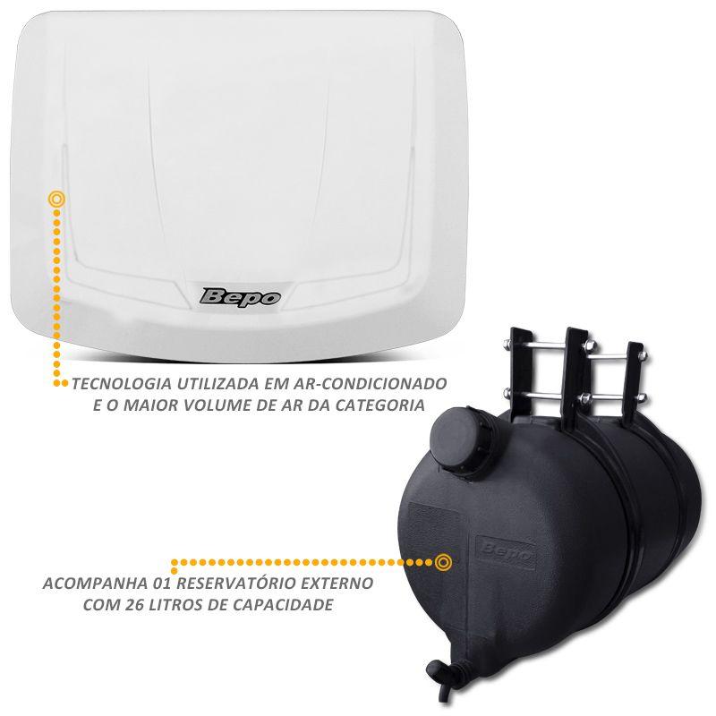 Climatizador Ar Bepo 12V MB1618 1620 1113 1313 Re Carroceria