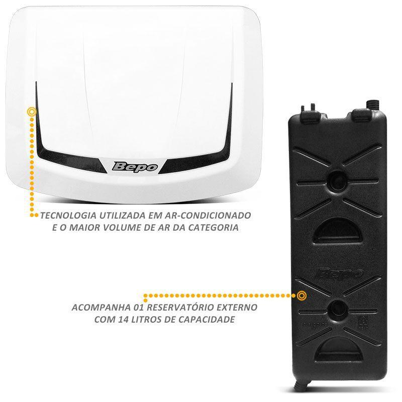 Climatizador Ar Bepo Revolution 24V Volvo FH Reserv. Escada