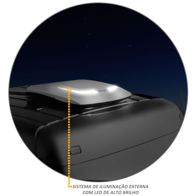 Climatizador Ar Bepo Mercedes Axor Atego Actros Teto Baixo