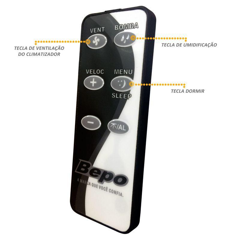 Controle Remoto Universal Bepo para Climatizador de Ar Clima