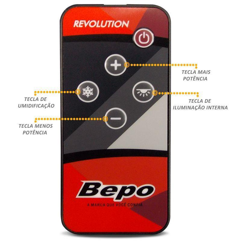 Controle Remoto Universal para Climatizador Revolution Bepo