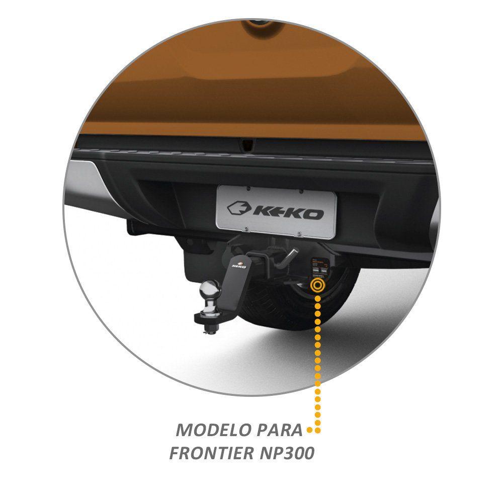 Engate Reboque Frontier 2017 a 2019 Keko K1 1500kg Removivel