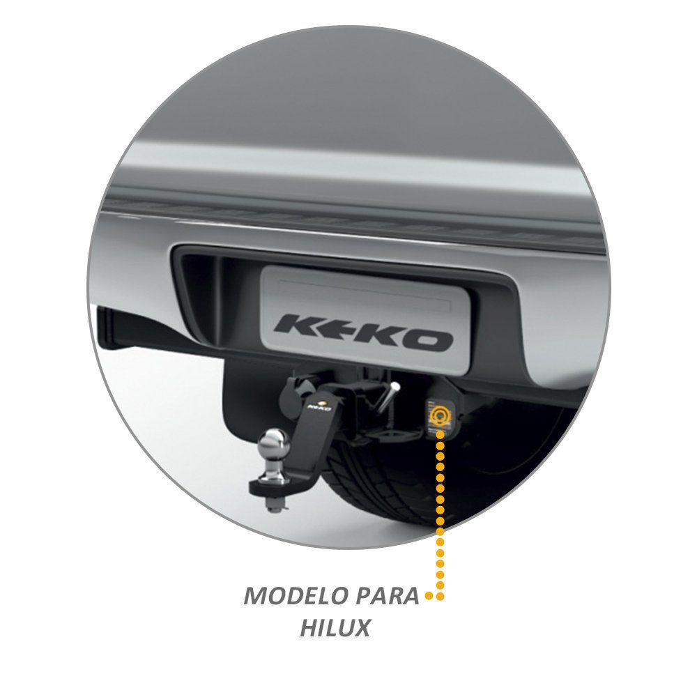 Engate Reboque Hilux 2005 a 2015 Keko K1 1500kg Removivel