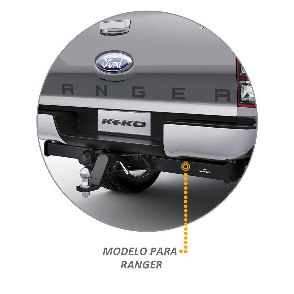 Engate Reboque Ranger 2013 a 2020 Keko K1 1500kg Removivel