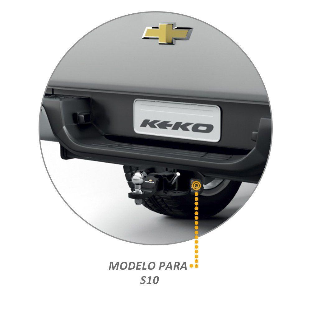 Engate Reboque S10 2012 a 2019 Keko K1 1500kg Removivel