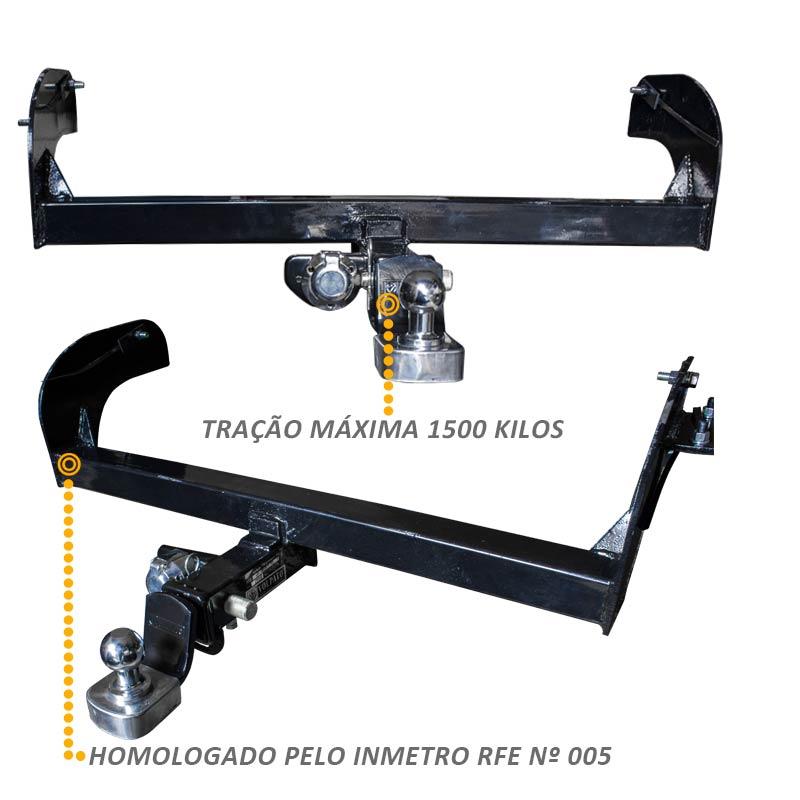 Engate Reboque L200 Triton Sport 2017 Removível 1500 kg