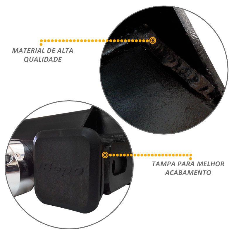 Engate Reboque S10 2012 a 2020 Bepo Removivel 1500kg