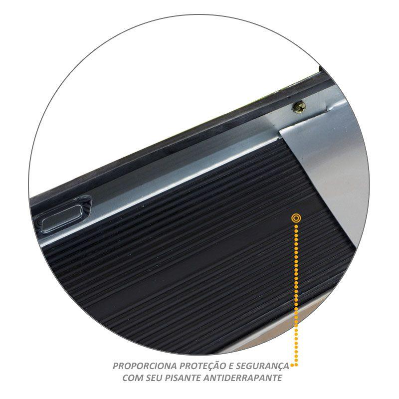 Estribo Lateral S10 2012 a 2020 Prata Switchblade Personal