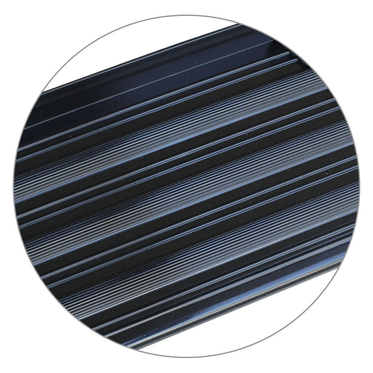 Estribo Lateral Amarok CS 2010 a 2019 Aluminio Preto A3