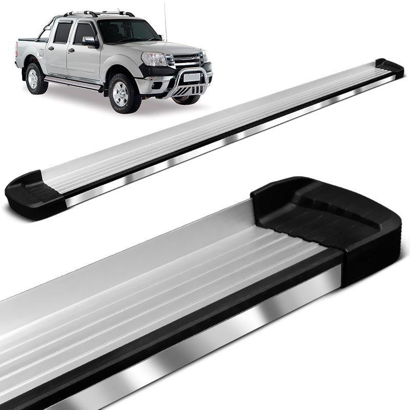 Estribo Lateral Ranger CD 1998 a 2012 Aluminio Elegance Bepo