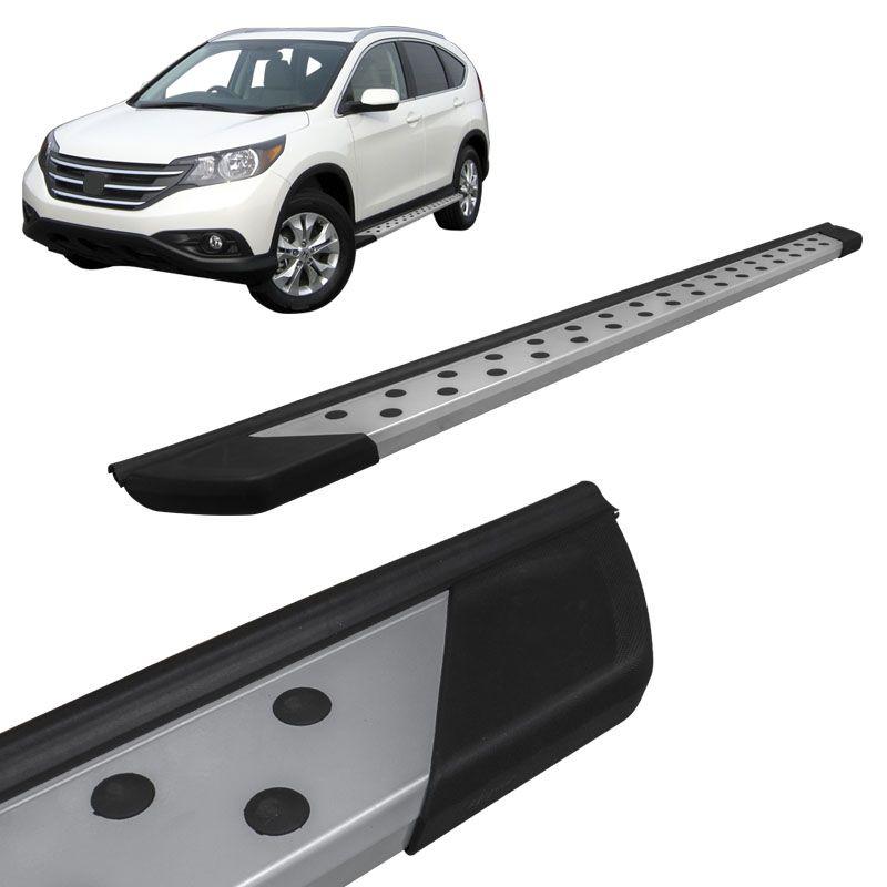 Estribo Lateral CRV 2008 a 2015 Aluminio Prata Bepo