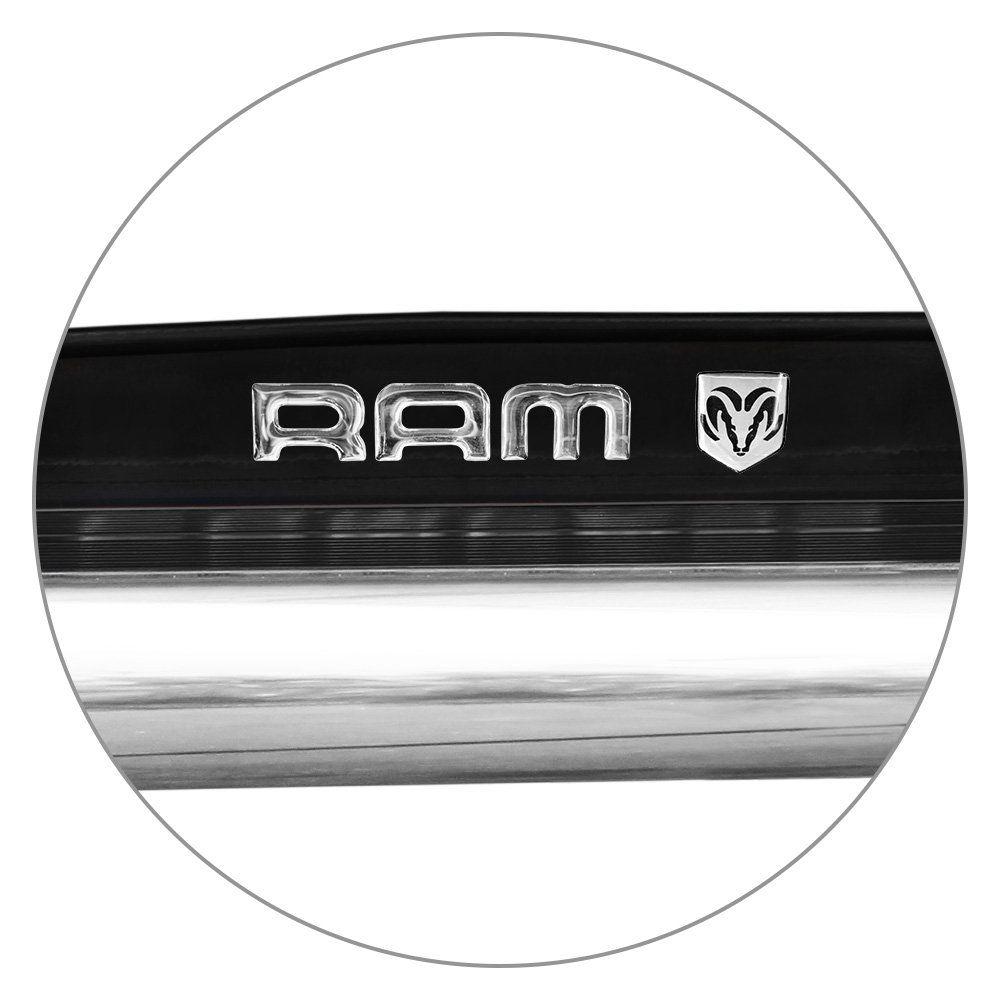 Estribo Lateral Dodge Ram 2012 a 2015 Preto Ebony Autech