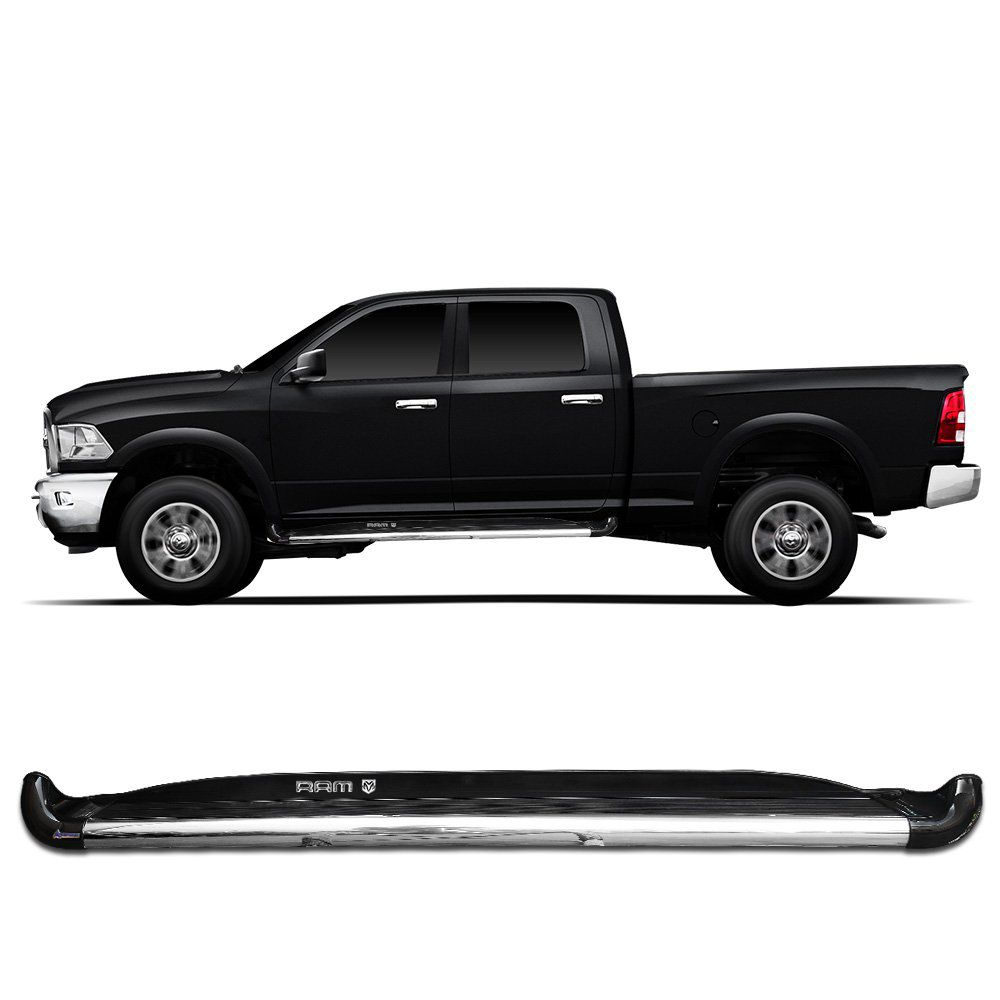 Estribo Lateral Dodge Ram 2012 a 2015 Preto Ebony Autech
