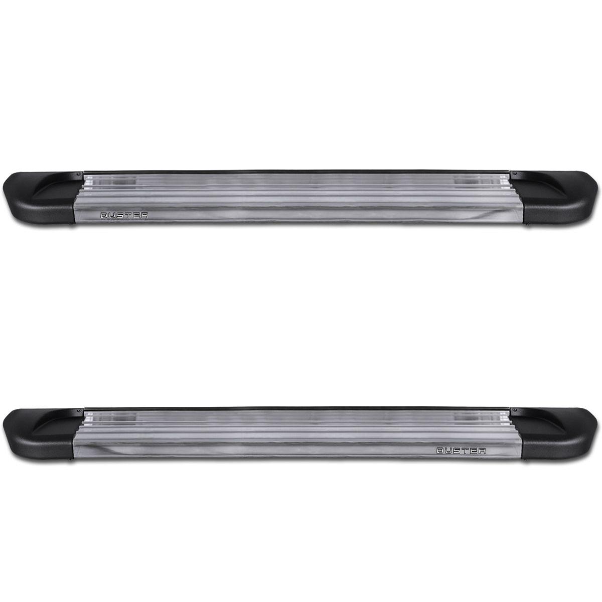 Estribo Lateral Duster 2012 a 2020 Aluminio Polido Track