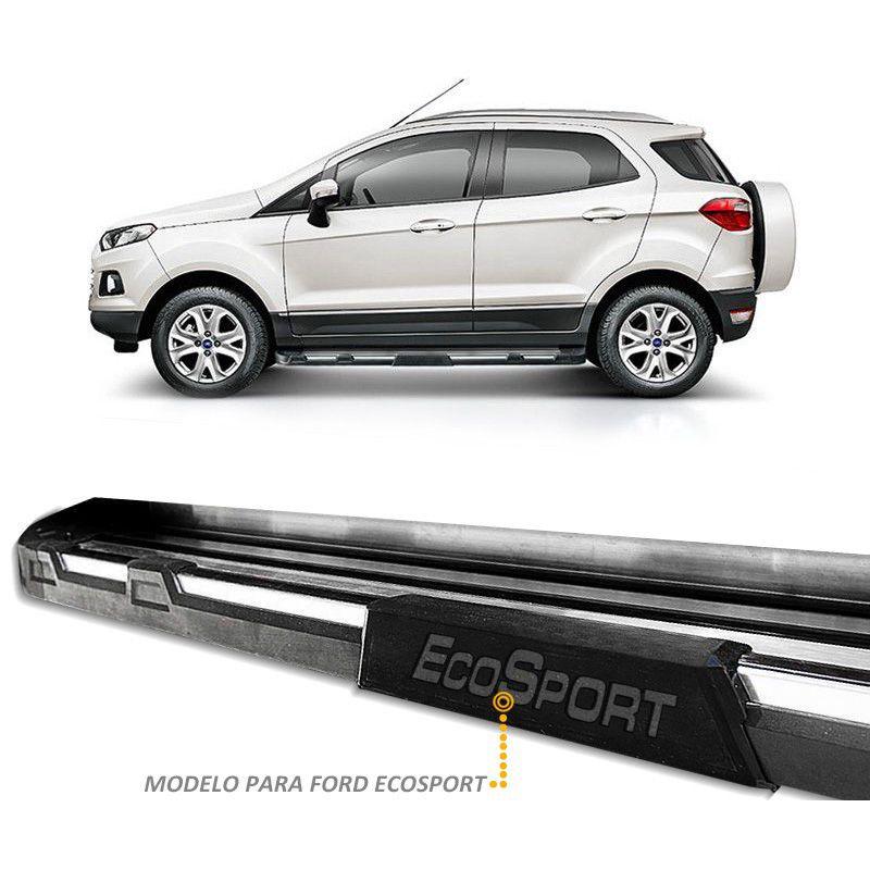 Estribo Lateral Ecosport 2013 a 2018 Off-Road Polido Stribus