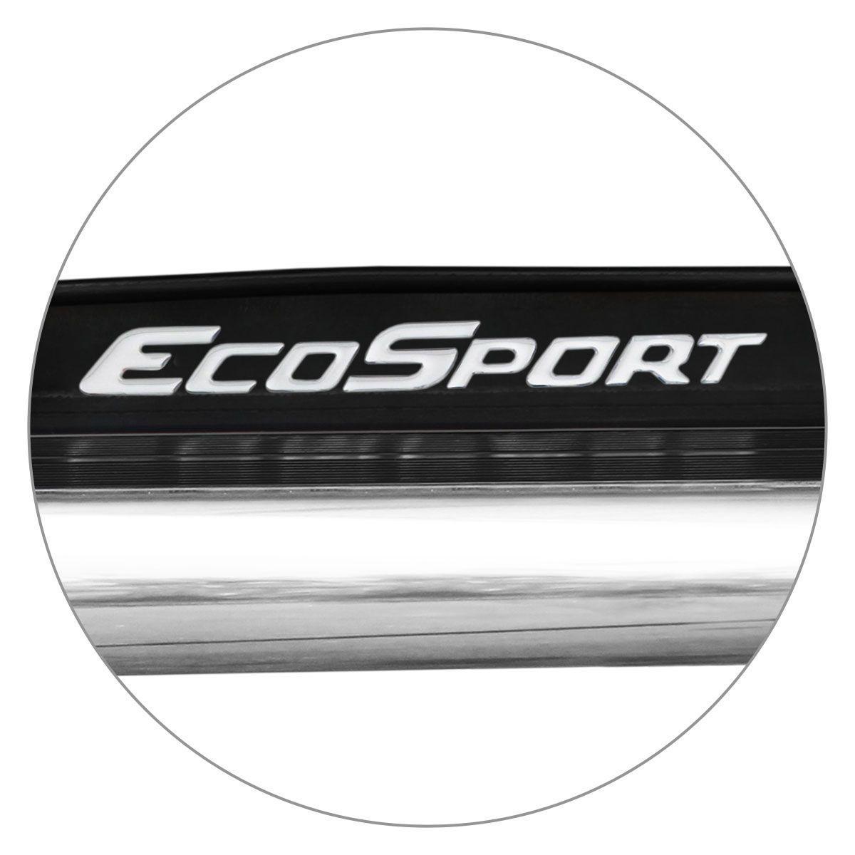 Estribo Lateral Ecosport 2013 a 2019 Preto Ebony Autech