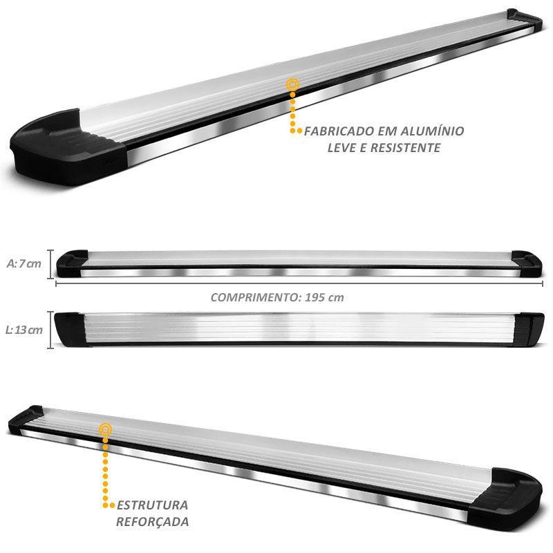 Estribo Lateral Amarok 2010 a 2018 Aluminio Elegance Bepo