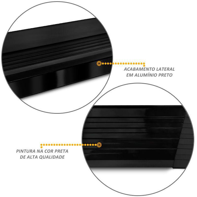 Estribo Lateral Amarok 2013 a 2018 Aluminio Preto Elegance Bepo