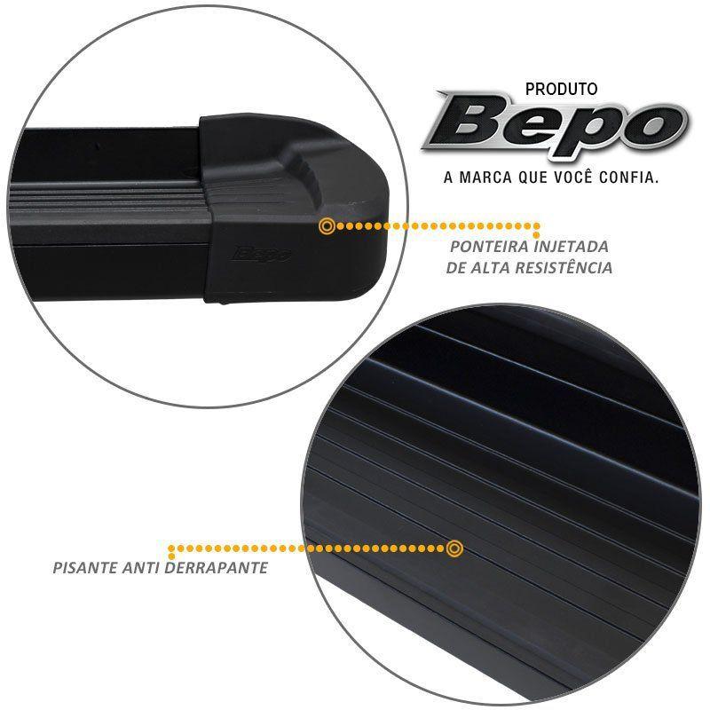 Estribo Lateral Sportage 2010 a 2013 Alumínio Preto Fosco Bepo