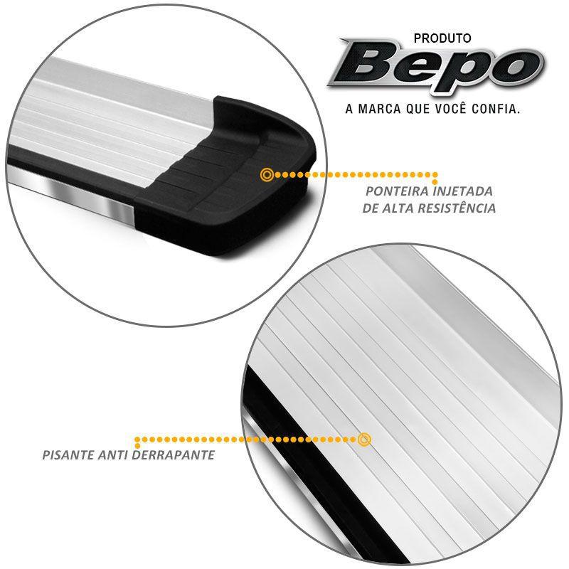 Estribo Lateral L200 Triton 2008 a 2018 Aluminio Bepo