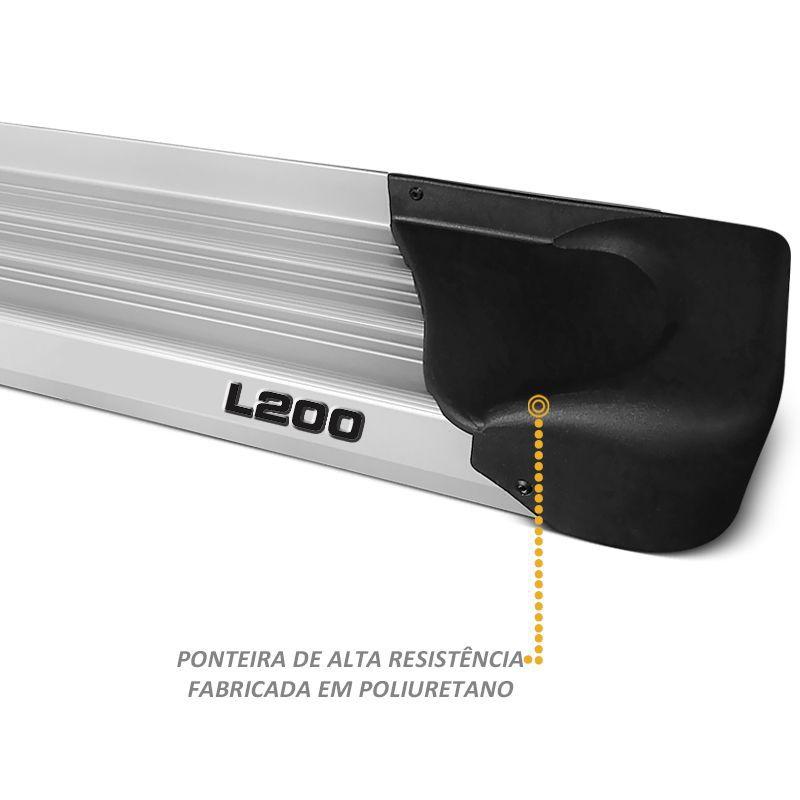 Estribo Lateral para L200 Sport Outdoor CD Cor Prata