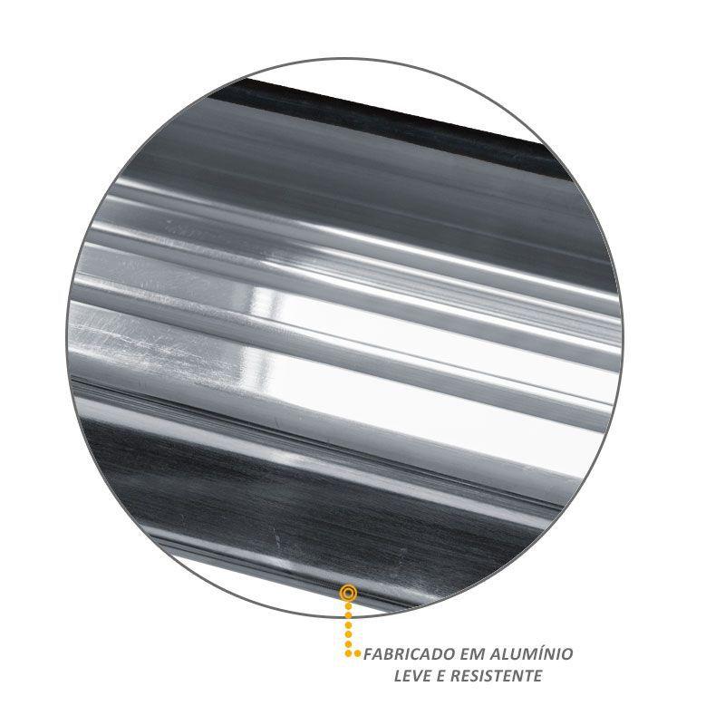 Estribo Lateral S10 2012 a 2018 Aluminio Polido Track