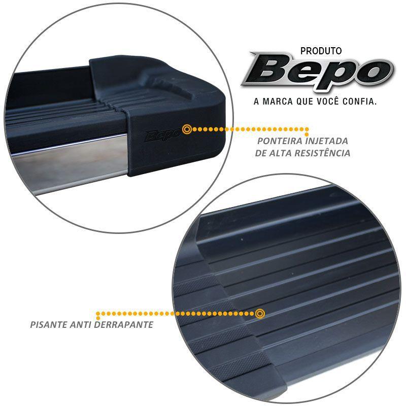 Estribo Lateral Ecosport 2013 a 2018 Aluminio Preto Bepo