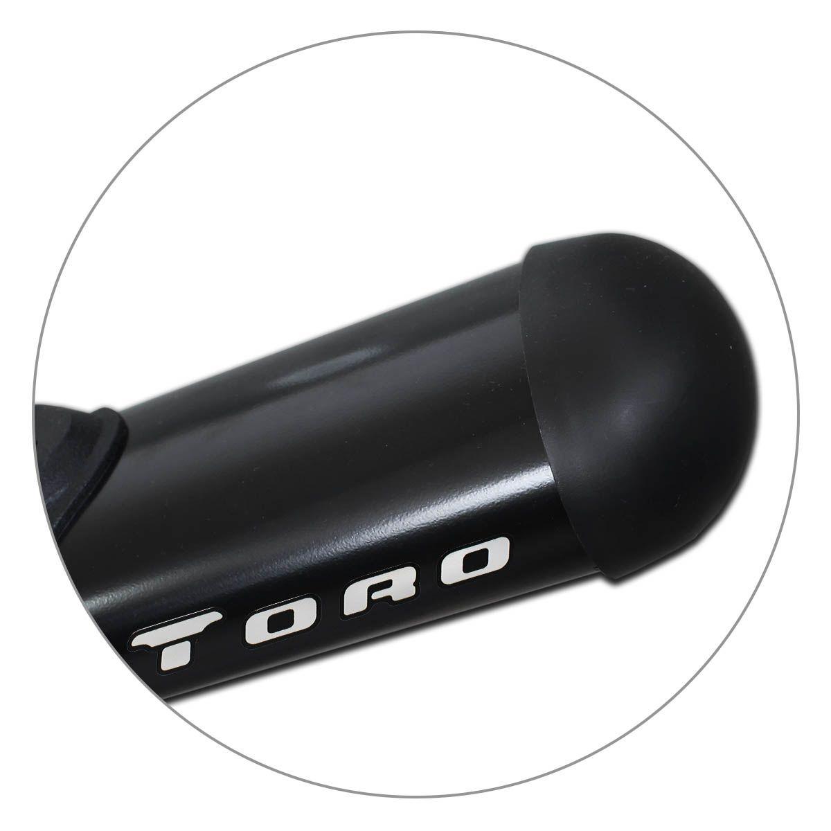Estribo Lateral Fiat Toro 2016 a 2021 Oblongo Oval Preto