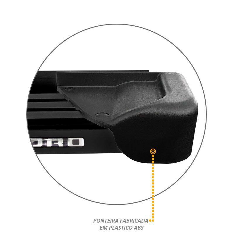 Estribo Lateral Toro 2016 A 2019 Aluminio Preto A1