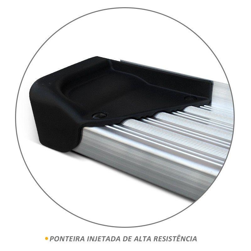 Estribo Lateral Fiat Toro 2016 a 2019 Aluminio Natural A3