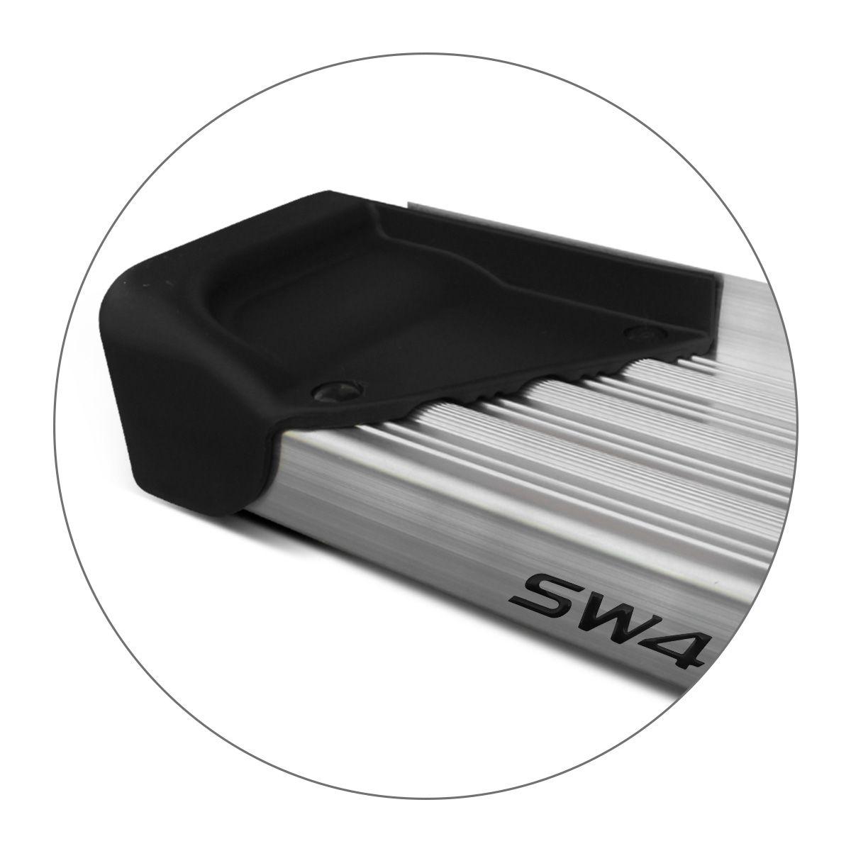 Estribo Lateral Hilux Sw4 2016 a 2019 Aluminio Natural A3