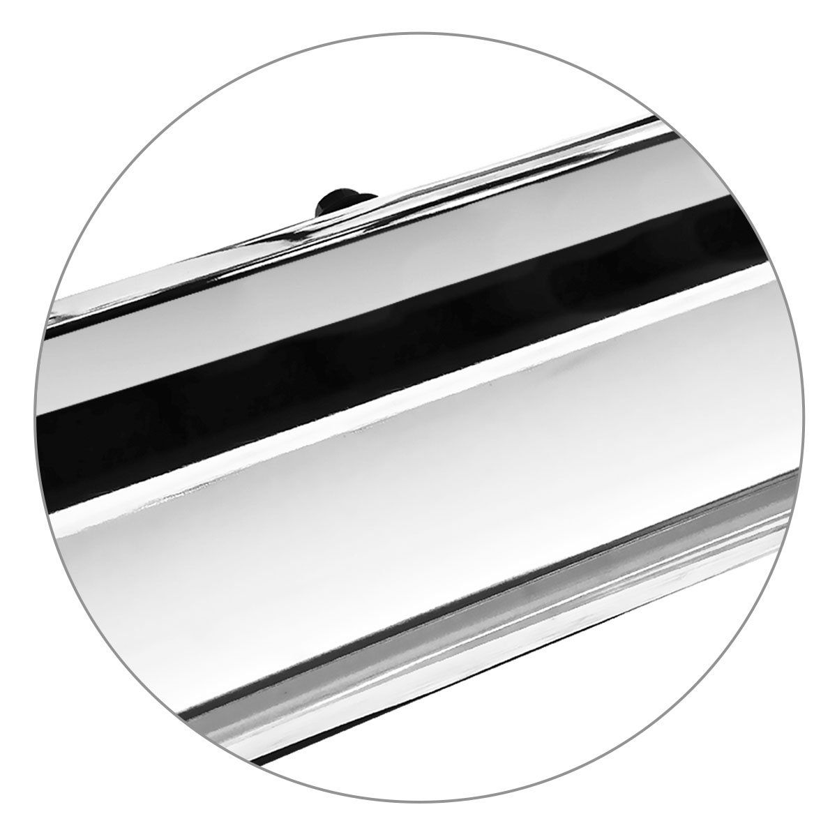 Estribo Lateral IX35 2011 a 2019 Oblongo Oval Cromado